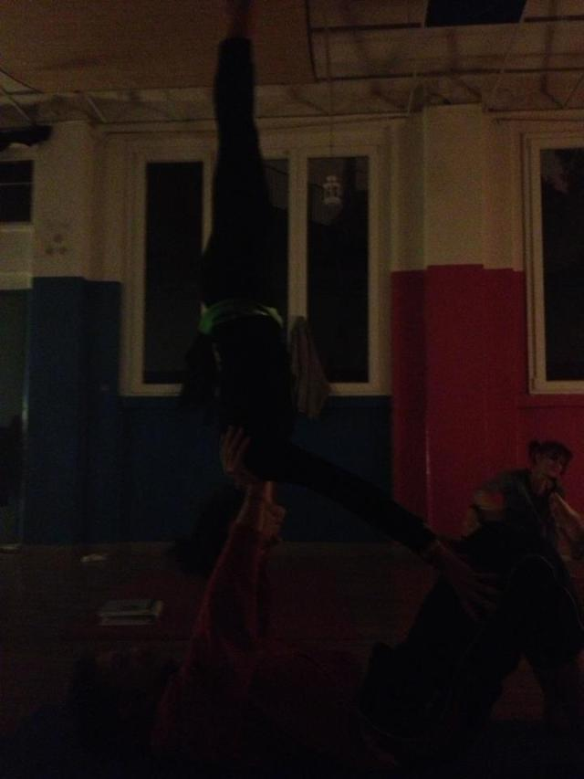 Acro Yoga @ Spazio Luce Milano